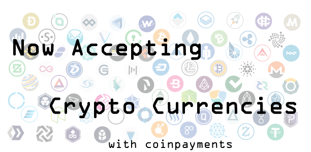 RTL Creative is now accepting Crypto Currencies